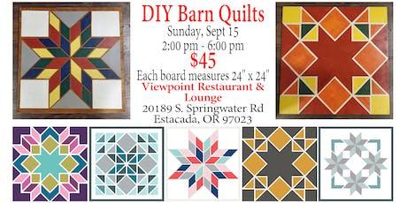 DIY Barn Quilts tickets