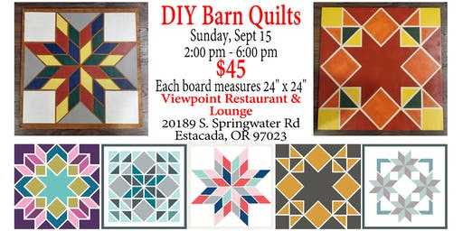 DIY Barn Quilts