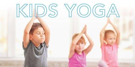 Kids Yoga Class (4Y - 9Y) - August 31st tickets