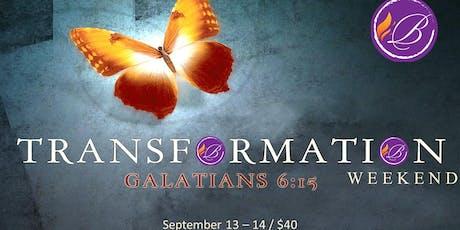 Transformation Weekend: 9 Key Kingdom Principles  tickets