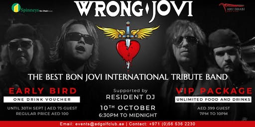 """THE BEST BON JOVI INTERNATIONAL TRIBUTE BAND!"""
