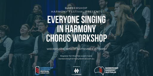 "BHF - ""Everyone Singing in Harmony"" Chorus - Workshop"