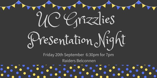 UC Grizzlies Presentation Night 2019