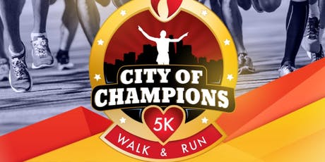 City of Champions 5k Walk/Run tickets