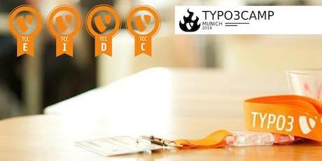 TYPO3 Certification at TYPO3Camp Munich 2019 Tickets