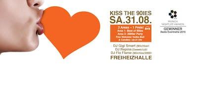 Kiss the 90ies - Münchens größte 90er Party im August!
