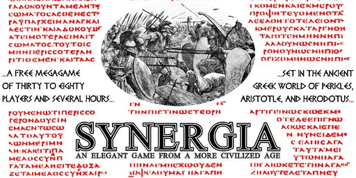Synergia: An Elegant Game from a More Civilized Age
