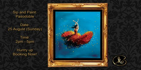 Sip and Paint: Pasodoble tickets