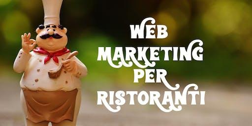 Corso Web Marketing per ristoranti