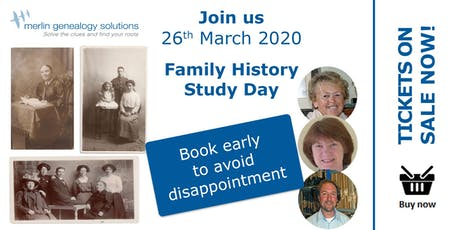 Family History Study Day Open To All tickets