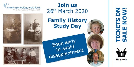 Family History Study Day Open To All