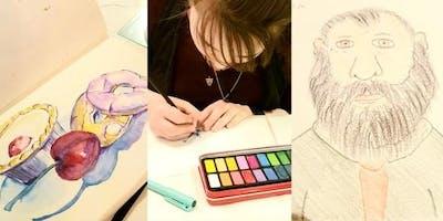 Drink n Doodle workshop