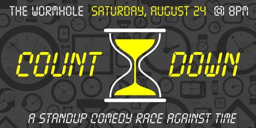 COUNT DOWN!  A Stand-Up Comedy Race Against Time