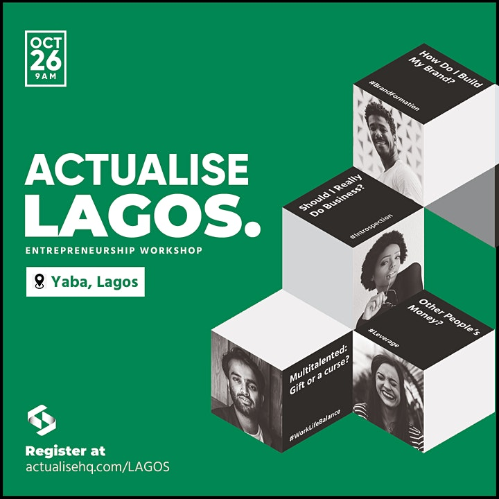 ActualiseLagos - Starting & Running A Small Business Workshop in Lagos image