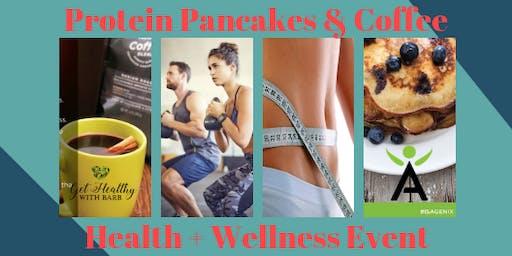 Protein Pancakes & Coffee