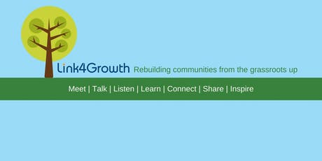 Link4Growth Community Connecting event - Cafe in the Library tickets