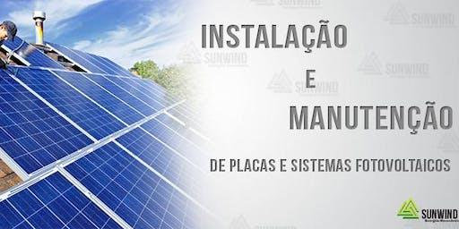 Curso Energia Solar - Instalação e Manutenção (07/10/2019 à 10/10/2019)