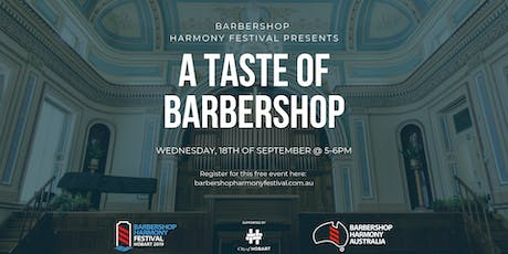 BHF - A Taste of Barbershop -  FREE Concert tickets