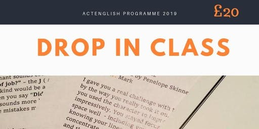 actEnglish Drop In Class - Session 1
