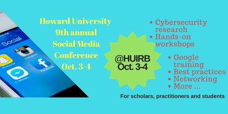 Ninth Annual Social Media Technology Conference & Workshop, Oct. 3-4, 2019 tickets