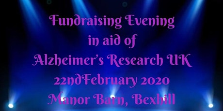 Fundraising Evening for Alzheimer's Research UK tickets
