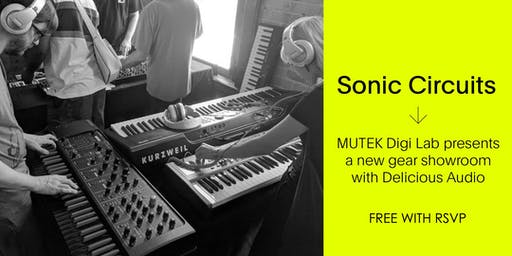 Sonic Circuits / Free SYNTH Showroom - MUTEK20