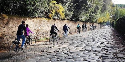 Visita guidata in bicicletta al Parco dell'Appia Antica e Valle della Caffarella