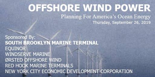 Offshore Wind Power - Planning For America's Ocean Energy
