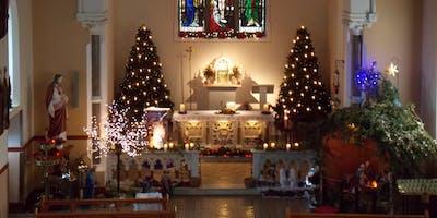 Straide Christmas Concert Dec 8-James Kilbane Annette Griffin John Staunton