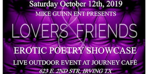 Lovers & Friends Sensual SpokenWord Showcase