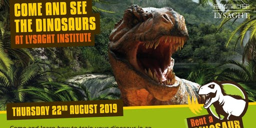 Dinosaurs at Lysaght Institute