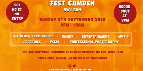 Back Street Games Launch Party tickets