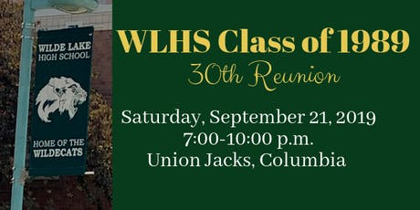 WLHS Class of '89 30th Reunion tickets