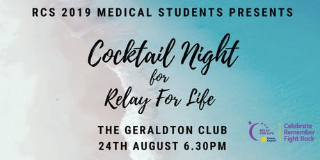 Relay for Life Cocktail night presented by RCS Medical Students tickets