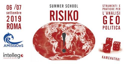 RISIKO:  SUMMER SCHOOL IN ANALISI GEOPOLITICA