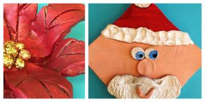 Christmas Clay Class Homeschool Workshop (5-12 Years)