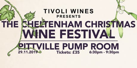 Cheltenham Christmas Wine Festival 2019 tickets