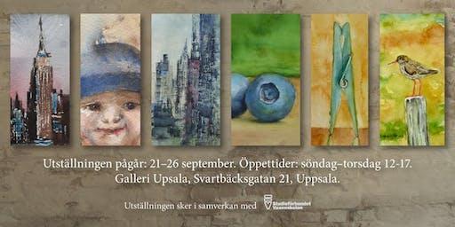 MER AKVARELL! -Birgitta Attling och Bo G. Svensson på Galleri Upsala