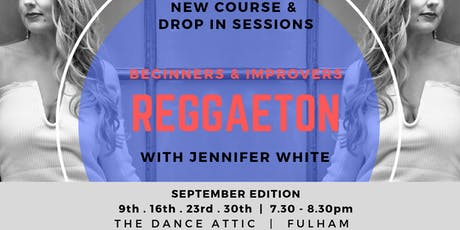 September Edition - Reggaeton  - Beginners & Improvers tickets