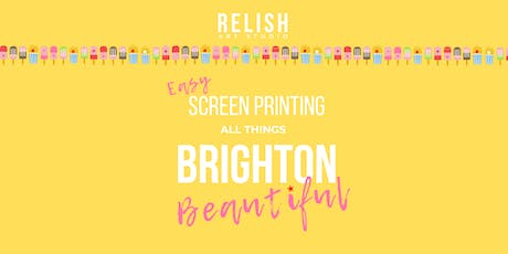 Easy Screen Printing tickets