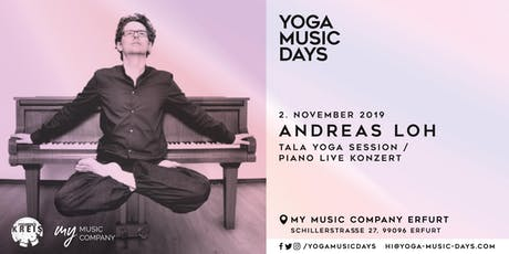 Yoga Music Days - Andreas Loh Tickets