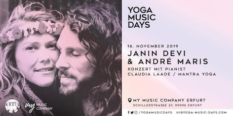 Yoga Music Days - Janin Devi & André Maris Tickets
