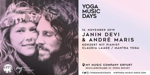 Yoga Music Days - Janin Devi & André Maris