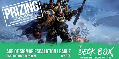 Warhammer: Age of Sigmar Escalation League 750 points tickets