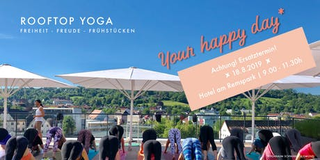 Rooftop Yoga | Your Happy Day* tickets