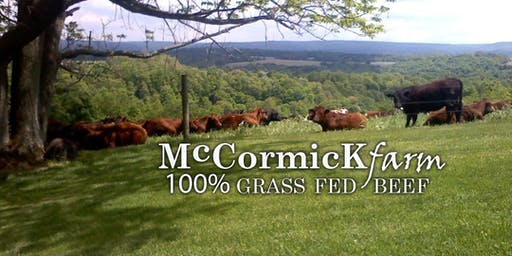 September Wine Dinner: Farm to Table with McCormick Farms