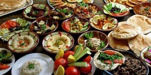 Middle East cuisine potluck