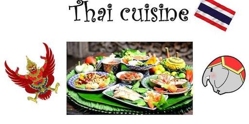 Thai cuisine potluck