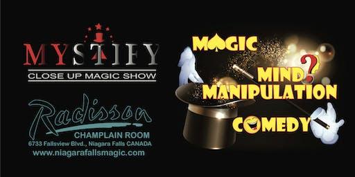 MYSTIFY Close Up Magic Show Niagara Falls