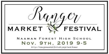 Ranger Market & Festival tickets